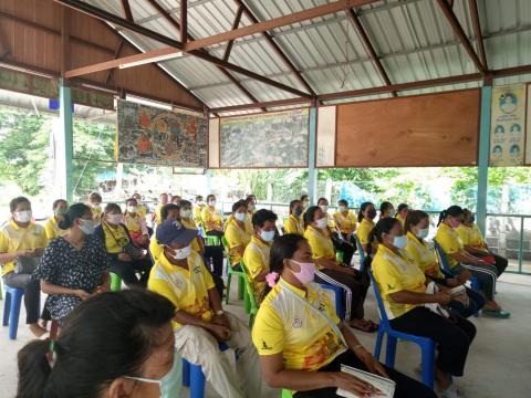 ประชุมประชาคมแผนป้องกันไข้เลือดออกตำบลบ้านยาง อำเภอพุทไธสง จังหว