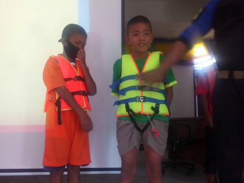 โครงการเด็กไทยปลอดภัยไม่จมน้ำ ประจำปีงบประมาณ 2563