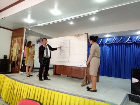 ประชุมประชาคมจัดทำแผนพัฒนาท้องถิ่น (2561 - 2565)